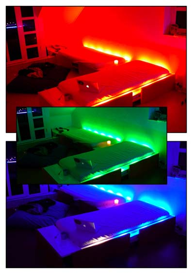 rgb beleuchtung f r bett led forum. Black Bedroom Furniture Sets. Home Design Ideas